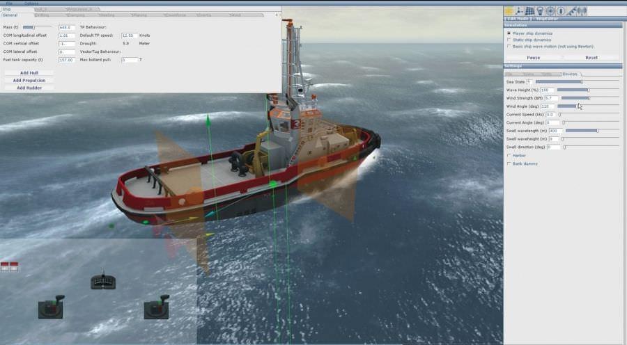 Mexican maritime schools to acquire classroom shipboard simulators