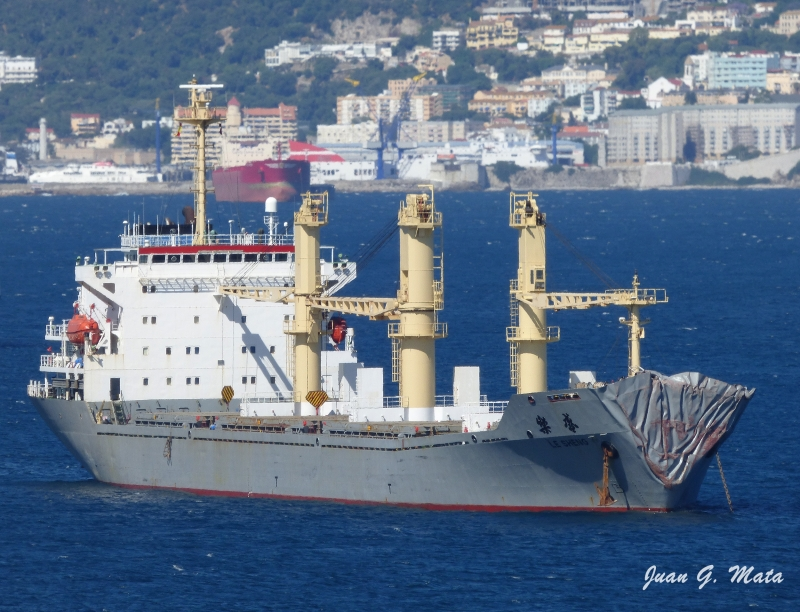 """""""Le Sheng"""" Collided with """"Cape Med"""" off Algeciras"""