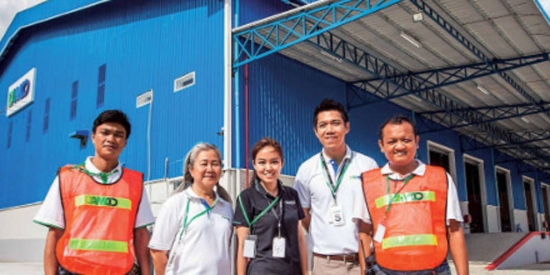 Damco opens first warehouse and container freight station in Myanmar