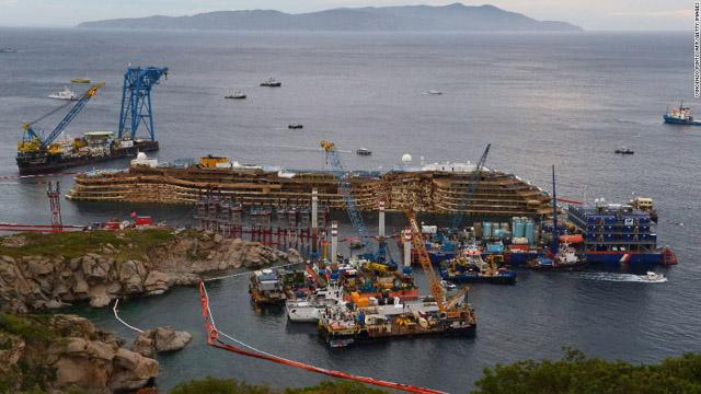 Costa Concordia: No consensus regarding final port of wreck
