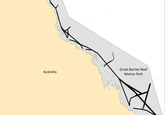 New Two-Way Route in Great Barrier Reef and Torres Strait