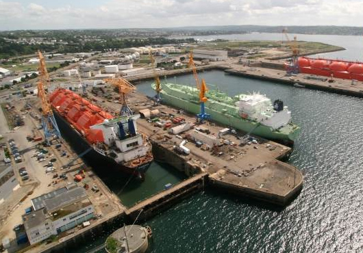 EU Shipbuilders in 3rd Place in Global Order-Book Value