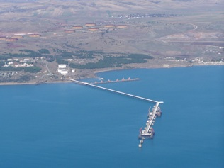 Azeri oil shipping from Turkish Ceyhan port still reaches 14.282 million tons in 2014