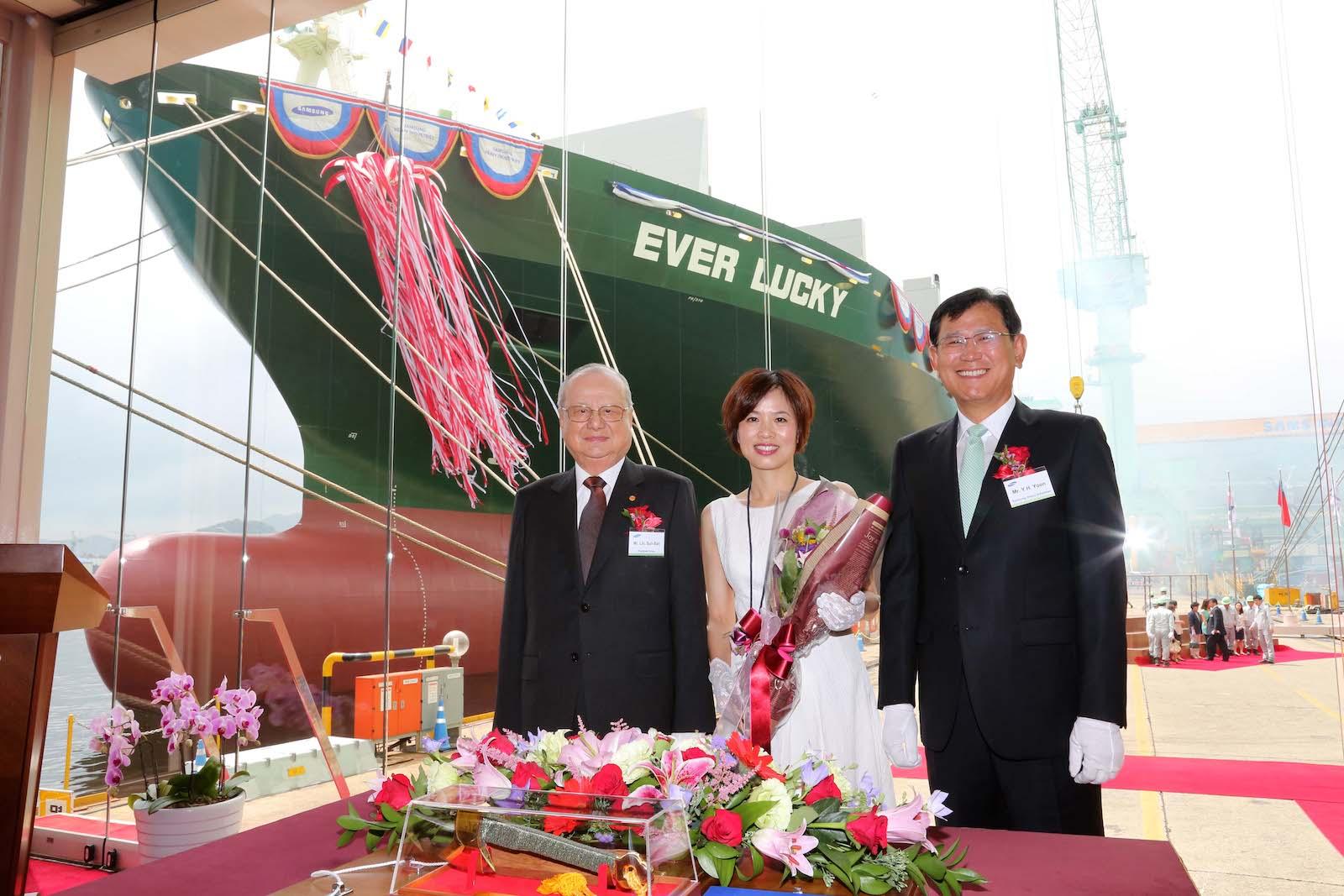 8,452-TEU Ever Lucky to enter Evergreen's Asia-USWC service