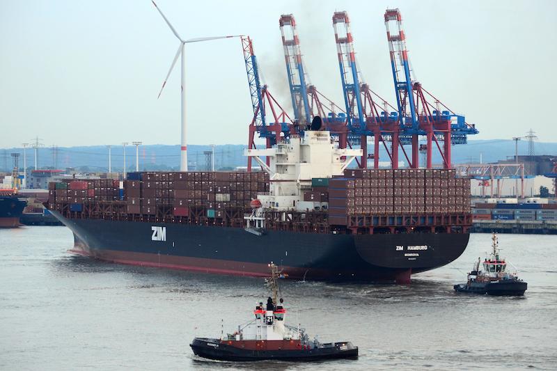 6,350-TEU Zim Hamburg joins Zim & MSCs' N Europe-Med (NE-1)