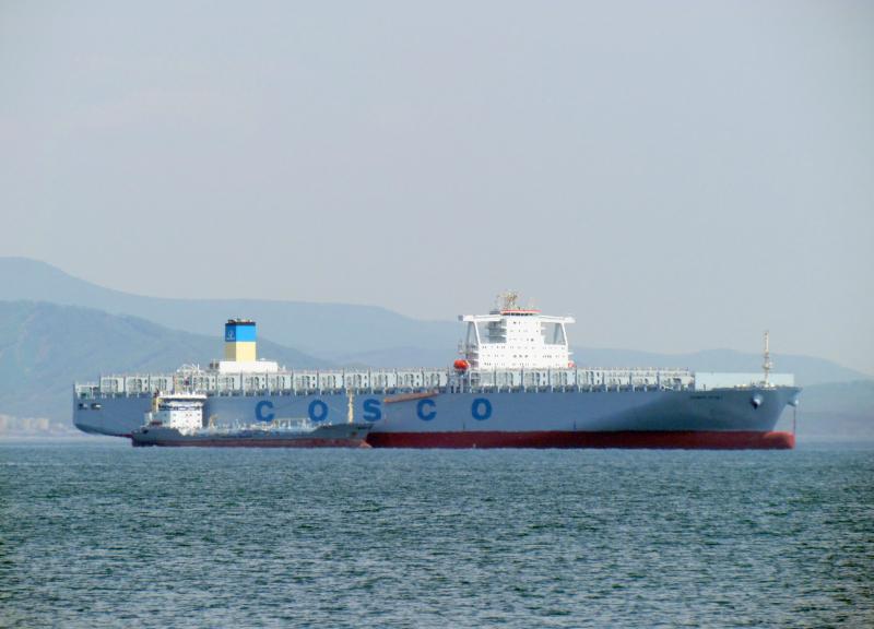 COSCO acquires seventh 13,386 TEU for CKYH Asia-Europe service (NE 3)