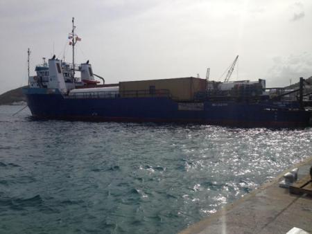 "US Coast Guard investigates the grounding of ""Sabre Spirit"""