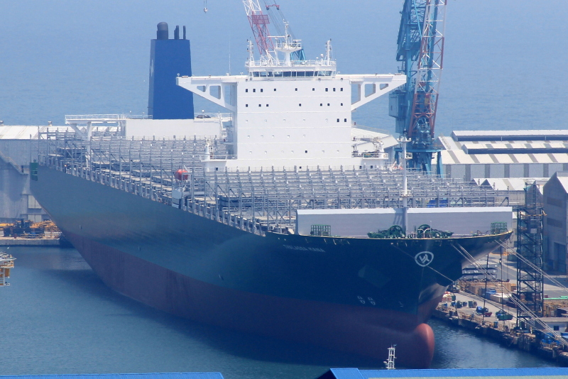 Evergreen launches 7th of ten 13,808-TEUers for CKYHE Asia-Europe