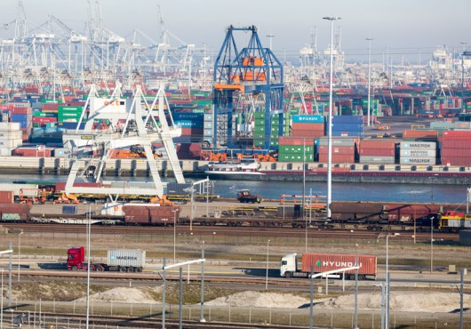 Numbers Steady at Port of Rotterdam