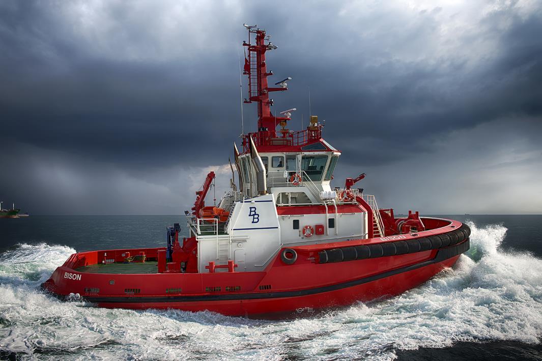 Sanmar Delivered Escort Tug M/T Bison