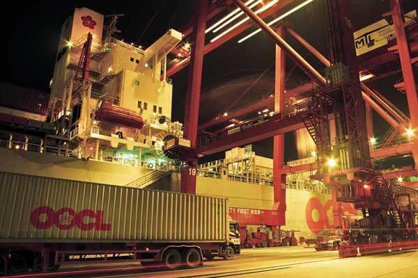 OOCL quarterly revenue rises 6.8pc, but per box rate falls 4pc