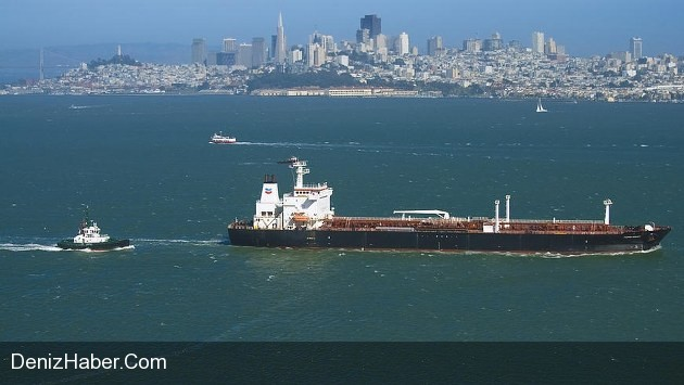 Tanker Carrying Northern Iraqi Oil Arrives on Houston anchorage