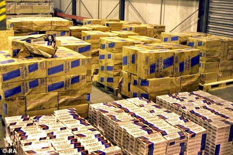 Customs seize 10 tonnes of Chinese cigarettes seized in Marseilles