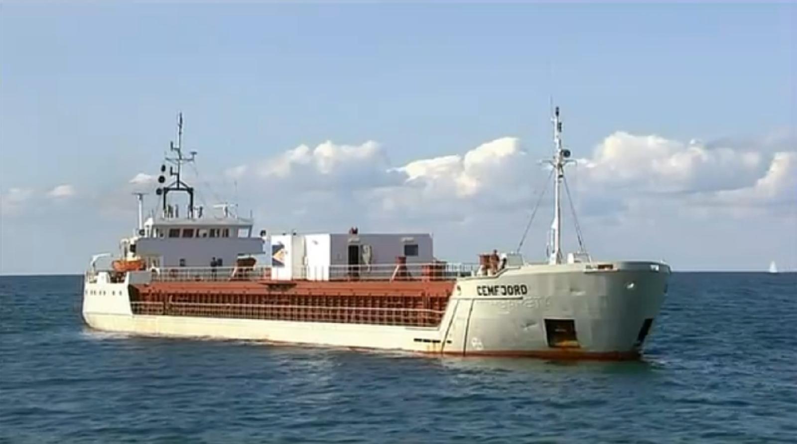 Drunk master ran cement tanker aground off Denmark