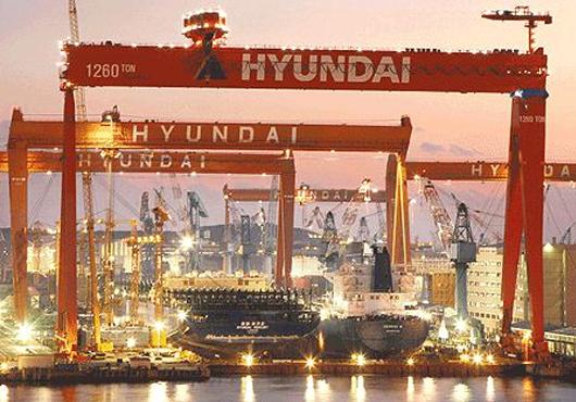 Hyundai Heavy Falls Short of Ambitious Goals