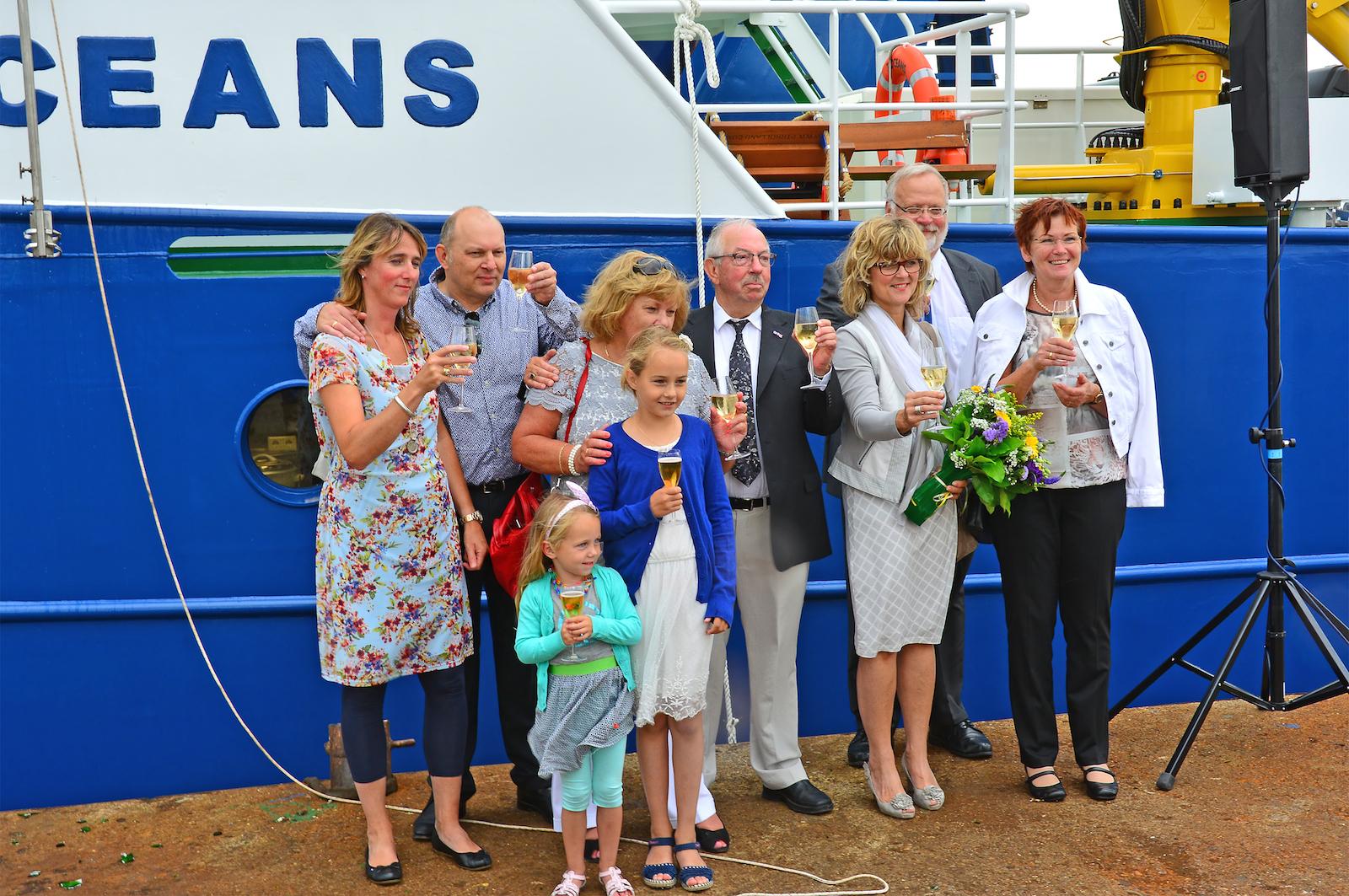 Maaskant Shipyards Stellendam delivers custom built offshore chasers