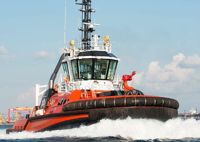Turkey's Sanmar delivers two Bogacay Class Tugs