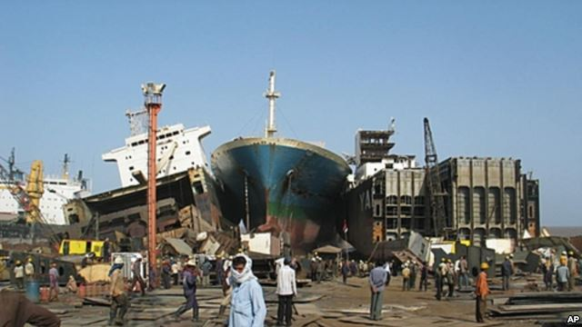 India shipbreaking moved from Steel Ministry to Shipping Ministry