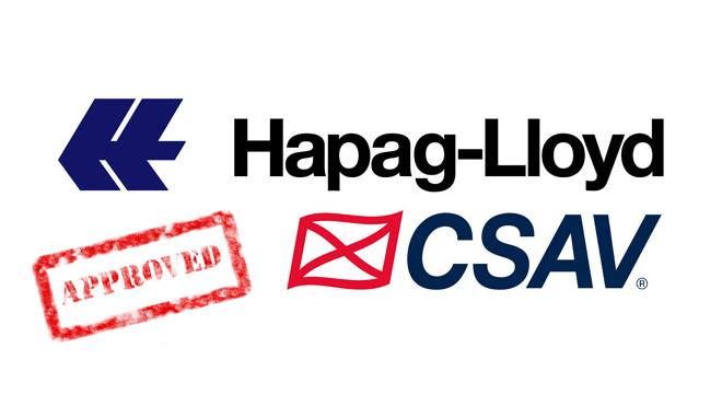 CSAV raises US$108 million for seven boxships and Hapag-Lloyd merger