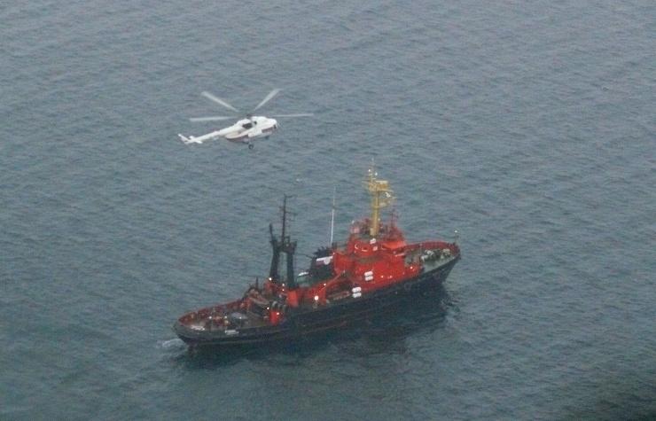 Fire Breaks Out aboard Russian Cargo Ship Sea Champion; One Dead