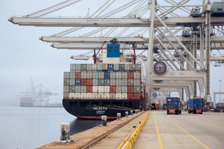 Savannah breaks monthly record in July, boxes up 19.2pc to 293,889 TEU