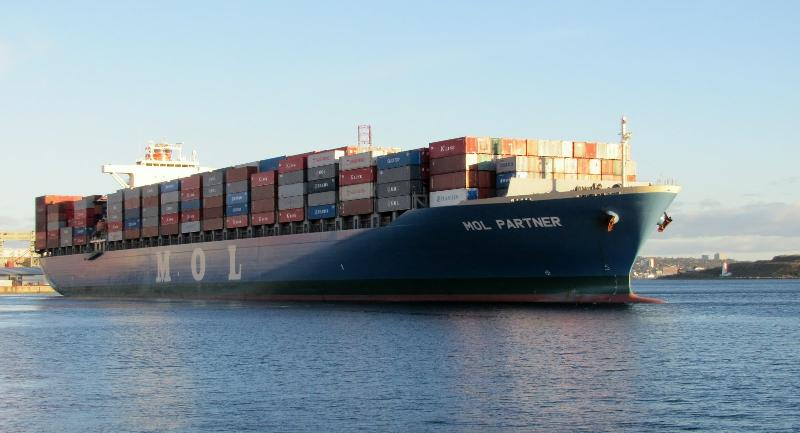 MOL hikes Asia-Southern Africa rate US$150/TEU - $300/FEU next month