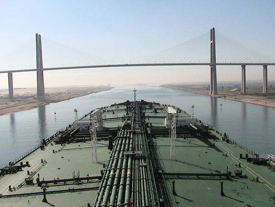 Suez Canal revenue up 8.6pc to US$482.2 million in July