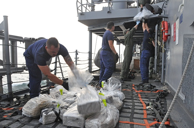 Cargo ship arrested in cocaine bust