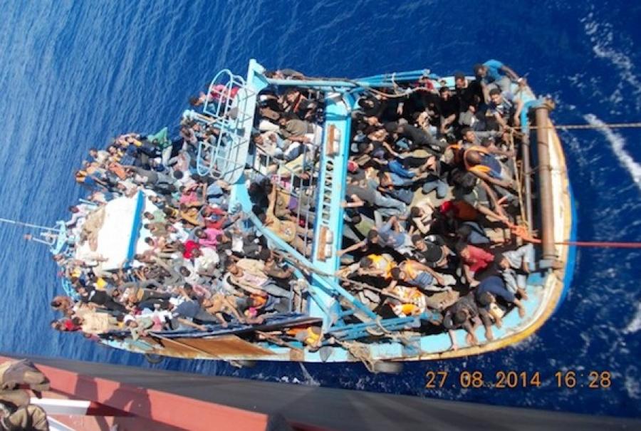 Greek Tankers rescued 758 Immigrants off Libya