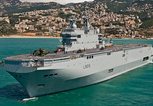 France Halts Delivery of Mistrals to Russia
