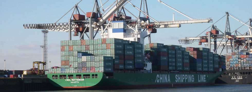 China Shipping receives second to last of eight 10,000-TEU containerships