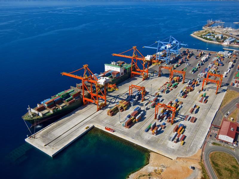 Ocean Three makes Croatia's Port of Rijeka first Adriatic call on A-E route