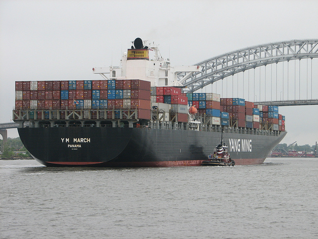 Diana Containerships Inc. Announces the Delivery of m/v YM March