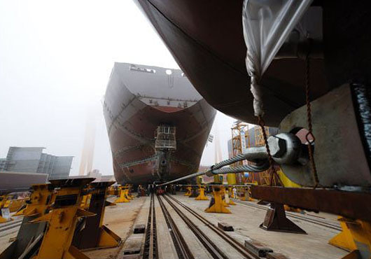 'K' Line repeats order for five more 13,870 TEU ships from Japanese shipyard