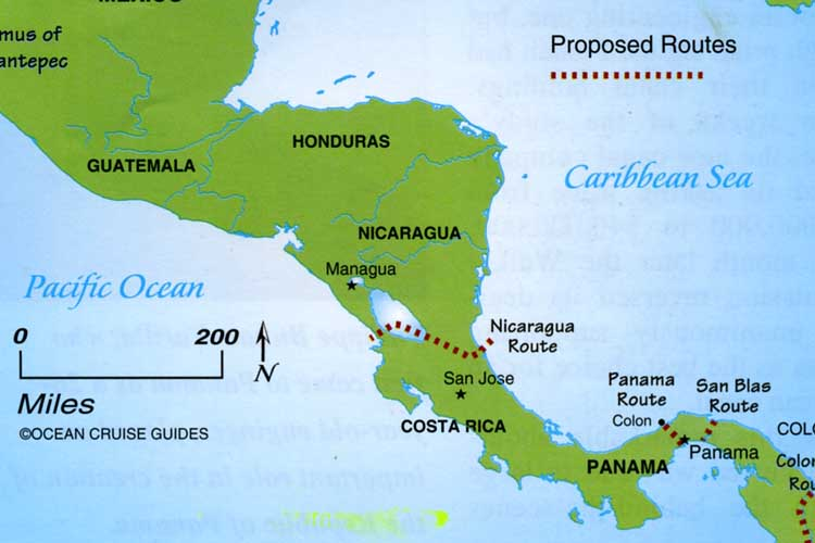 With bigger ships, a Nicaraguan canal could mean big trouble for Panama
