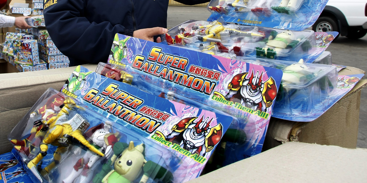 UK-bound counterfeit toys on ship from Hong Kong seized in Le Havre