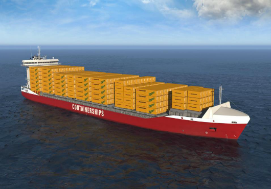 Containerships orders two more dual-fuel engine boxships