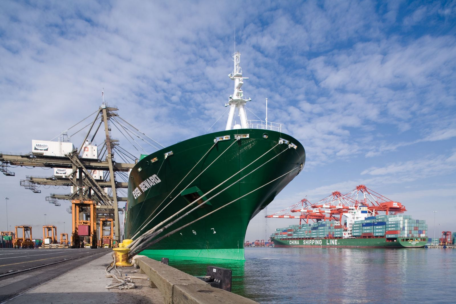 Evergreen expands Asia-S Africa loop with Cosco, 'K' Line, MOL, PIL