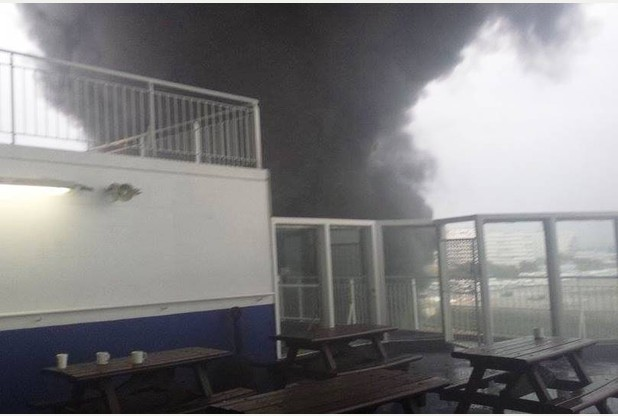 "Fire aboard P&O ferry ""Pride of Canterbury"""