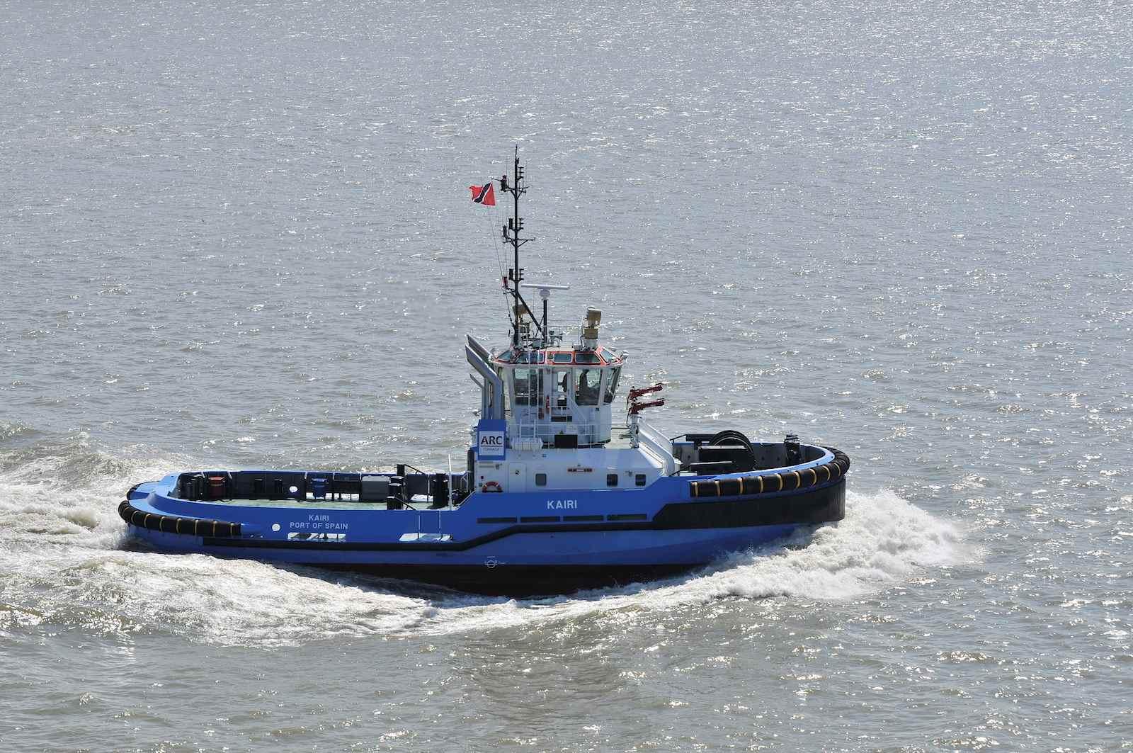 MV KAIRI, DAMEN ASD 2810, leaves for Trinidad
