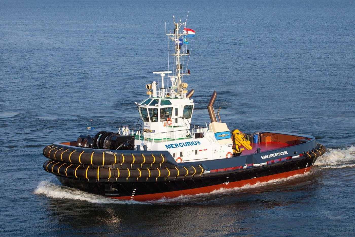 Iskes Towing & Salvage expands with third Damen ASD Tug 3212