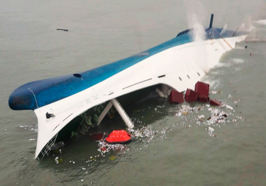 Sewol Ferry was overlaoaded and illegally redesigned, crew not properly trained