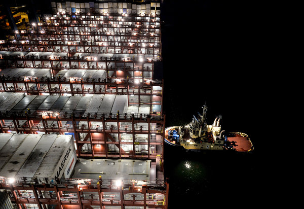 Aboard a Cargo Colossus: Mary Maersk