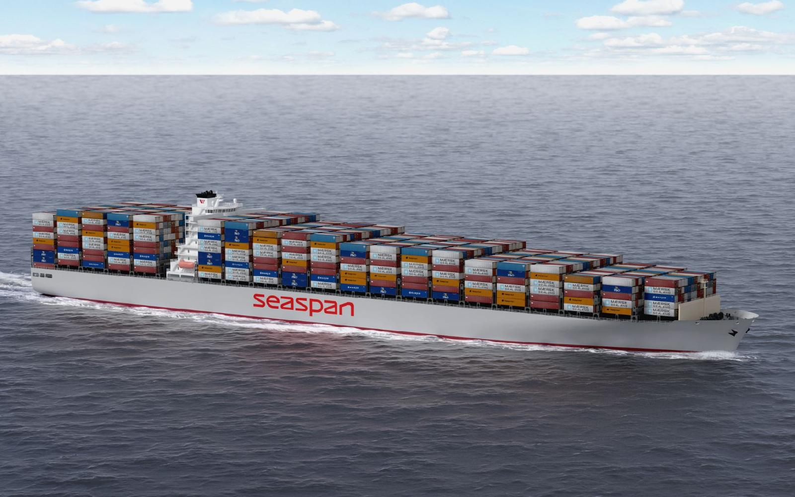 Fifth 10,000-TEU containership is received by Seaspan