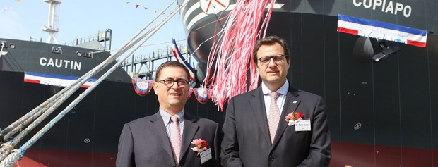 CSAV to soon receive largest ships of 9,300 TEU after christening