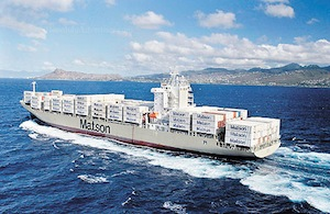 Matson profit up 25.7pc, but results marred by molasses spill fine