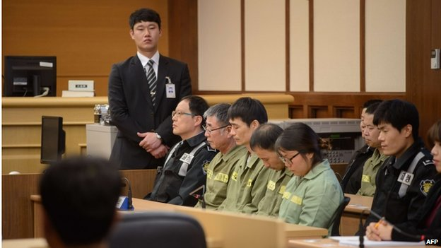 Sewol trial: Ferry captain sentenced to 36 years in jail