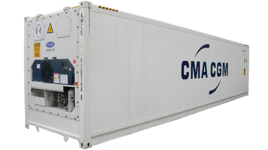 CMA CGM ups reefer fleet to 185,000 TEU with 7,000 new boxes