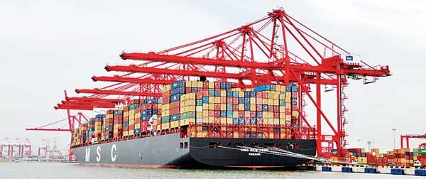 Sri Lanka port sector handles over six million TEU in 2017