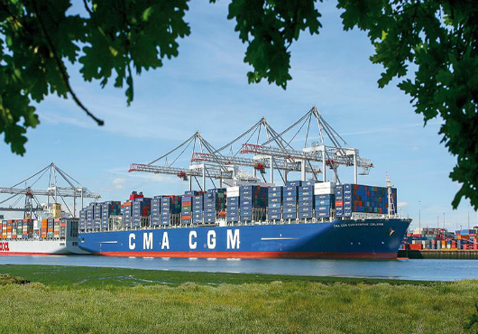 CMA CGM net profit up 187pc on one-off gains as EBIT slips 9pc